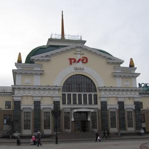 Железнодорожные вокзалы Верхней Пышмы